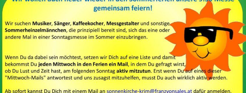 thumbnail of Sonnenkirche – Plakat